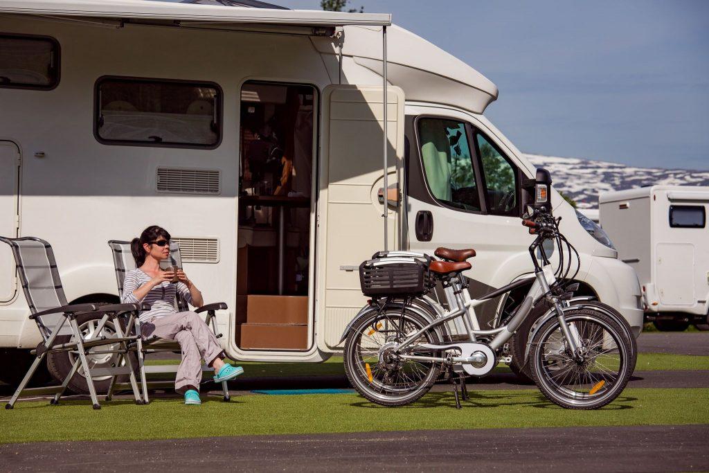 Mobile Caravan parked up